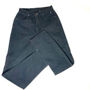 Vintage•Harley Davidson Black Mom Jeans 8 Long